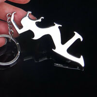 Beauty Bottle Opener Key Chain Multi-function Bottle Opener Key Chain Pendant