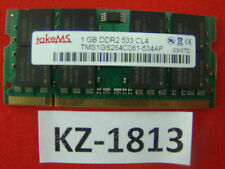 1gb takeMS tms1gs264c081 SO-DIMM NOTEBOOK-RAM 667mhz cl5 pc2-5300 #kz-1813