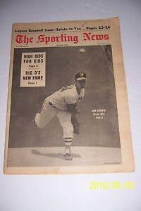 1968 Sporting News BALTIMORE Orioles JIM HARDIN No Label O's Free Ship NO LABEL