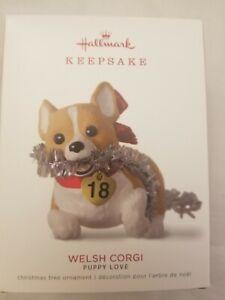 2018 Hallmark Puppy Love  Welsh Corgi - NIB