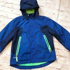 b09ec2cc501577 Champion VentureDry XS 4-5 Boys Windbreaker Jacket Full Zip Blue