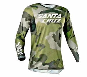 Men's Santa Cruz Cycling Jersey Motocross/MX/ATV/BMX/MTB -UK SELLER-  XL