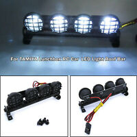 Super Bright LED Light Roof Bar Spotlight Lamp for 1/10 TAMIYA Lunchbox RC Car