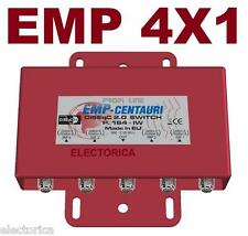 EMP-CENTAURI 4X1 DiSEqC MULTI-SWITCH LNB FTA DISH FREE TO AIR WEATHER PROOF
