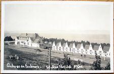1953 St. Jean Port Joli, Quebec PQ Realphoto Postcard-Auberge du Faubourg-Canada