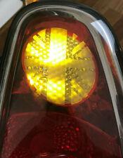 Mini Cooper One Clubman 02-06 R50 R52 R53 Union Jack Rear Indicator Stickers