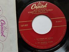 """ROGER WAGNER CHORALE - Songs of the New World 1955 FOLK 7"""" EP Capitol"""