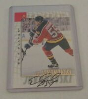 ED JOVANOVSKI - 1998 BE A PLAYER PINNACLE - AUTOGRAPH - PANTHERS -