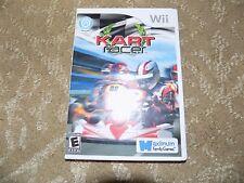 Kart Racer (Nintendo Wii, 2010) EUC
