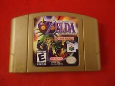 "The Legend of Zelda: Majora's Mask (Nintendo 64, 2000) N64 ""Not for Resale"" game"