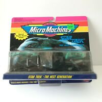 MicroMachines Star Trek Next Generation 1993 Collection Galoob New Sealed NOS