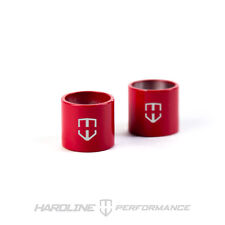 HARDLINE HOOD BUMP STOP SLEEVES FOR FOCUS ST AND FIESTA ST (SET OF 2) RACE RED