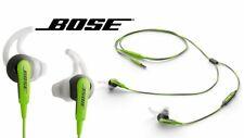 Bose SiE2i SoundSport In-Ear Headphones -W/ Microphone-Green-Apple Devices