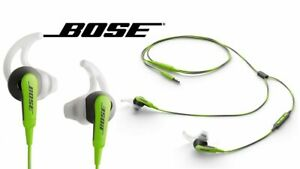 Bose SiE2i SoundSport In-Ear Headphones -W/ Microphone-Green-Apple Devices