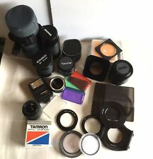 Joblot of Mixed Lenses, Filters and Accesories