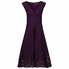 Jolie Moi Sweetheart Neck 50s Lace Dress Size UK 18 rrp £79 DH078 BB 21
