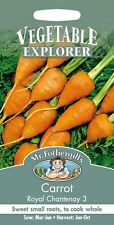 Mr Fothergills - Vegetable - Carrot Royal Chantenay 3 - 1000 Seeds