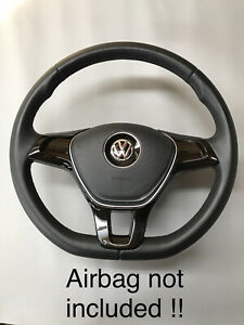 VW T5.1 T6 Transporter Steering Wheel Leather 2010-2018 Slight imperfections #1