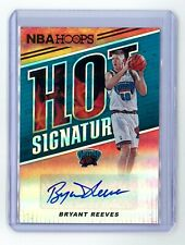 2018-19 Panini NBA Hoops Basketball Hot Signatures Bryant Reeves #HS-BRV Auto