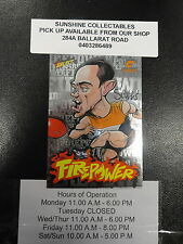2013 AFL CHAMPIONS FIREPOWER CARICTURE FC28 TOM SCULLY GWS GIANTS