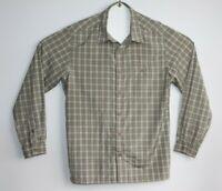 kathmandu Men's Long Sleeve Quick Dry Check Shirt Size M