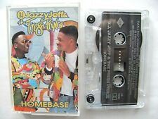 DJ Jazzy Jeff & Fresh Prince ~ Homebase – Cassette Tape 1991 WORKS Summertime D.