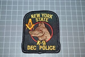 New York State Police K-9 Unit Patch (B17-10)