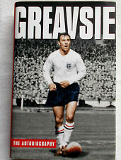 *SIGNED* by Jimmy Greaves - 'Greavsie, the Autobiography' - 2003 1st HB/DJ-Spurs