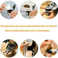 20-100Pcs Home Kitchen Disposable Paper Filters Cups For Keurig Coffee D5F0