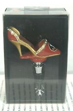 FLORIDA STATE SEMINOLES SHOE BOTTLE STOPPER~NEW IN GIFT BOX~FREE SHIP IN US