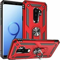 Phone Case For Samsung Galaxy S9 / S9 Plus Kickstand Ring Shockproof Cover