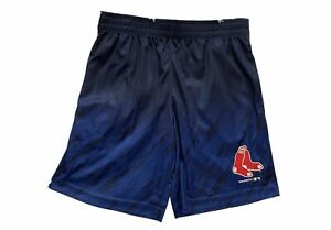 MLB Boston Red Sox Boys Shorts Sz Small S 6-7 Blue