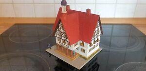 RS Modelle Rudolf Spitaler 6458 Rathaus aus Holz, TOP, absolute Rarität aus 50er
