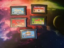 Gameboy Advance Game Lot - 5 Disney games