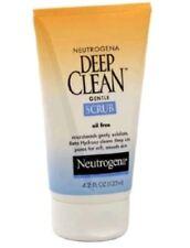 Neutrogena Deep Clean Face Wash Gentle Scrub Oil Free Microbeads Beta Hydroxy