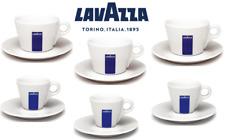 Lavazza Americano Cappuccino Espresso White Porcelain Cup and Saucer {1 - 12's}