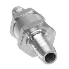 1Pcs 6mm Aluminium Non-return One Way Check Valve Fuel Diesel Water US
