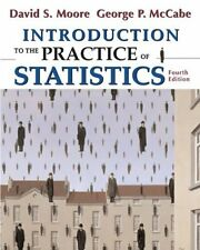 Introduction to the Practice of Statistics, 4th Edition (Book & CD-ROM) by David