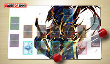Yugioh Playmat Custom Made Play Mat Large Mouse Pad FREE TUBE C005