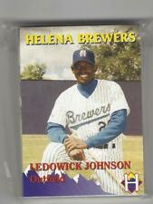 1996 HELENA BREWERS TEAM SET COMPLETE 34 CARDS R MILWAUKEE BREWERS