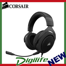 Corsair HS50 Stereo Gaming Headset with Mic - Carbon 50mm Driver