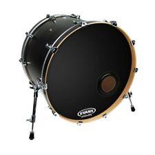 "Evans BD22 22"" EMAD Reso Kick Drum Head - Black"