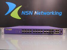 Extreme Networks Summit X450A-24X 16155 24-Port Managed Gigabit Fiber SFP Switch
