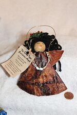 Vintage Christmas ornament  Angel Ono Tapa Guardian Angle