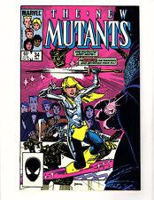 New Mutants #34 (Marvel, 1985) VF,  Shadow King Magik Warlock Karma