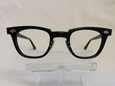 Vintage Titmus Black Eyeglasses Glasses Tart Arnel Style Hot Rod Steampunk