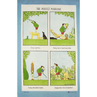 McCaw Allen 'The Perfect Marriage' Linen Union Tea Towel