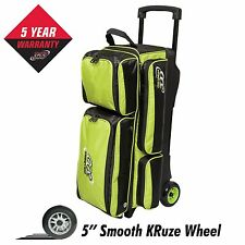 Columbia 300 Icon 3 Ball Roller Bowling Bag Lime 5 Year Warranty