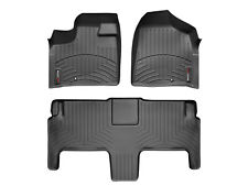 WeatherTech FloorLiner for Chrysler T&C/ VW Routan w/ Luxury Bucket Seats -Black
