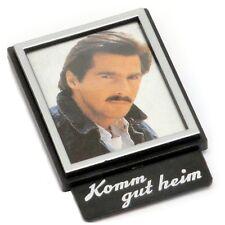Auto Fotorahmen Bilderrahmen KOMM GUT HEIM aus 1977 mit Halterung HR Art. 1301
